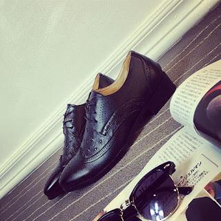 Sepatu Pantofel Pria Model Terbaru Korea Juni 2016 Keren