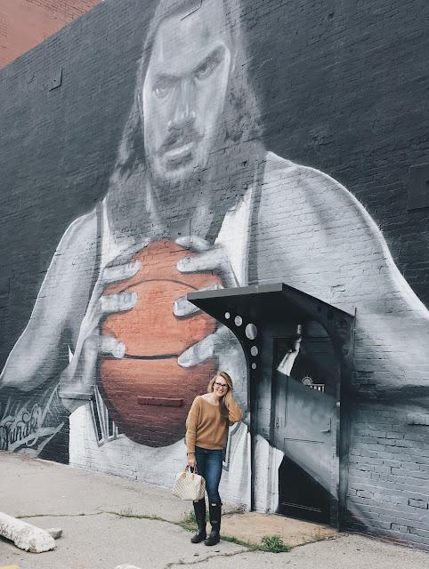 Steven Adams Mural
