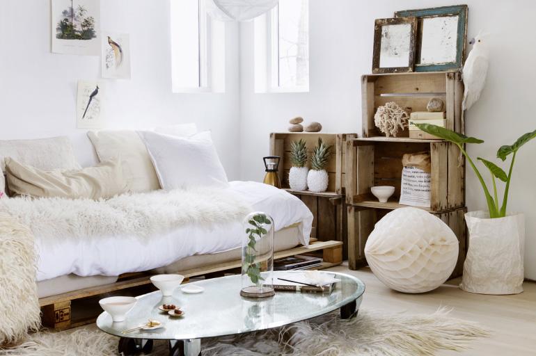 de la fourrure dans ma d co louise grenadine blog lifestyle lyon. Black Bedroom Furniture Sets. Home Design Ideas