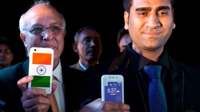 Mr. Murli Manohar Joshi and  Mr. Mohit Goel at the launch