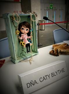 Caty Blythe de Silmariñecas en el Desembalaje Bilbao