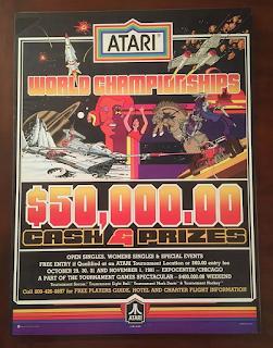 Anuncio campeonato mundial de videojuegos de Atari - 1981