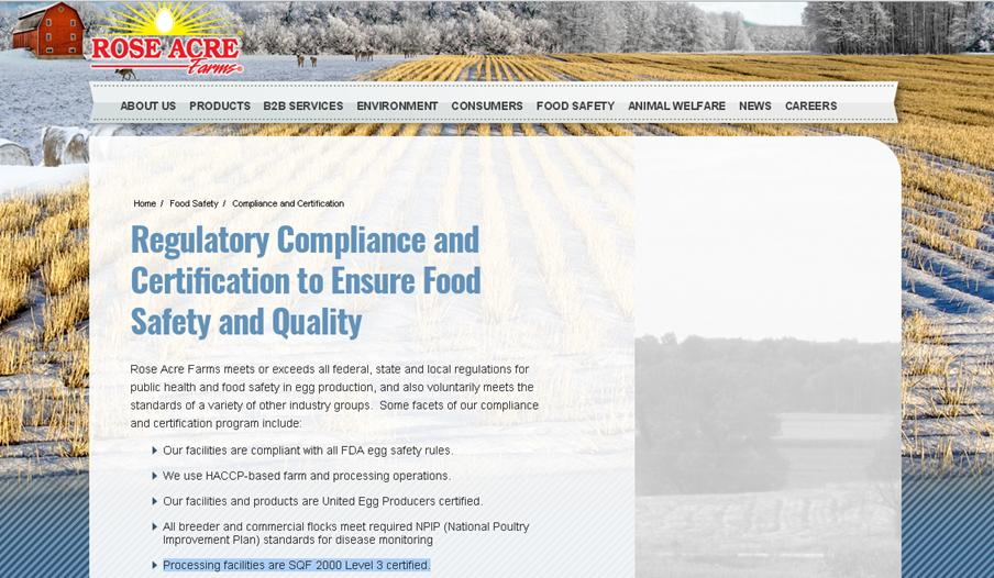 Gcse Food Health Protection What Does Food Safety Certification
