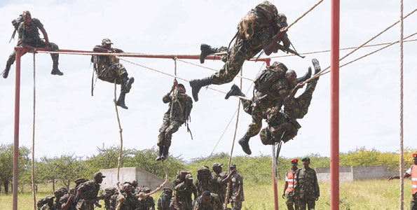Tanzania People's Defence Forces (TPDF) soldiers