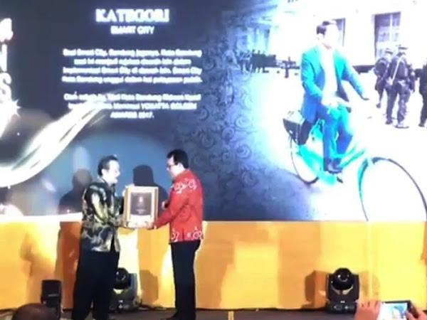 Kota Bandung Kembali Raih Penghargaan Kota Pintar