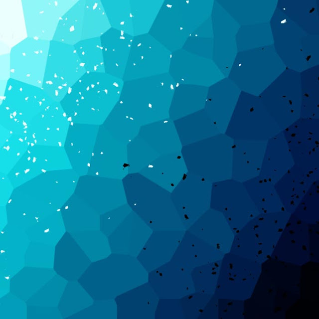 Low Poly Blue (Animated) 4K Wallpaper Engine