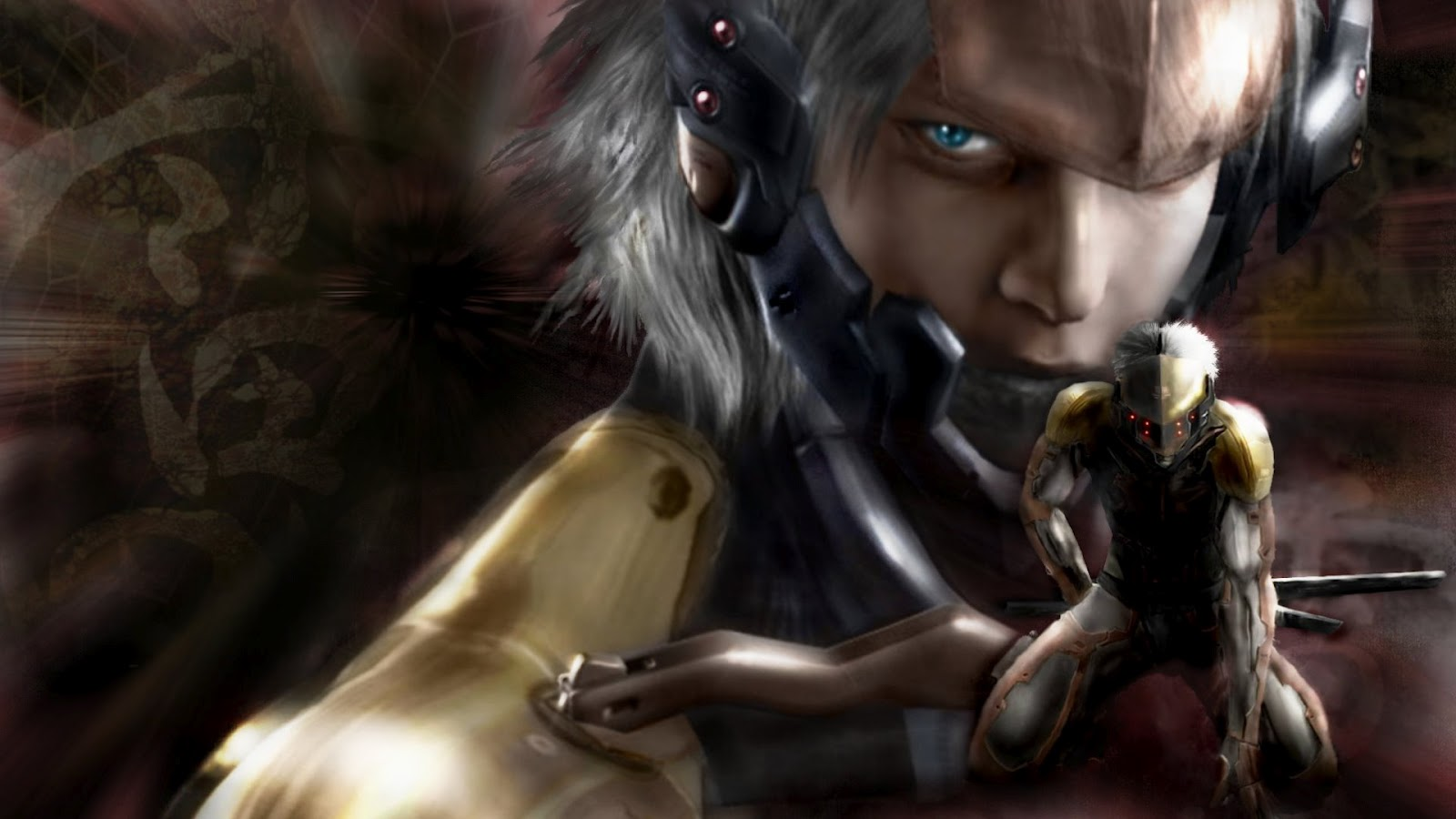 Video Game Gallery Metal Gear Solid 4 Guns Of The Patriots Raiden