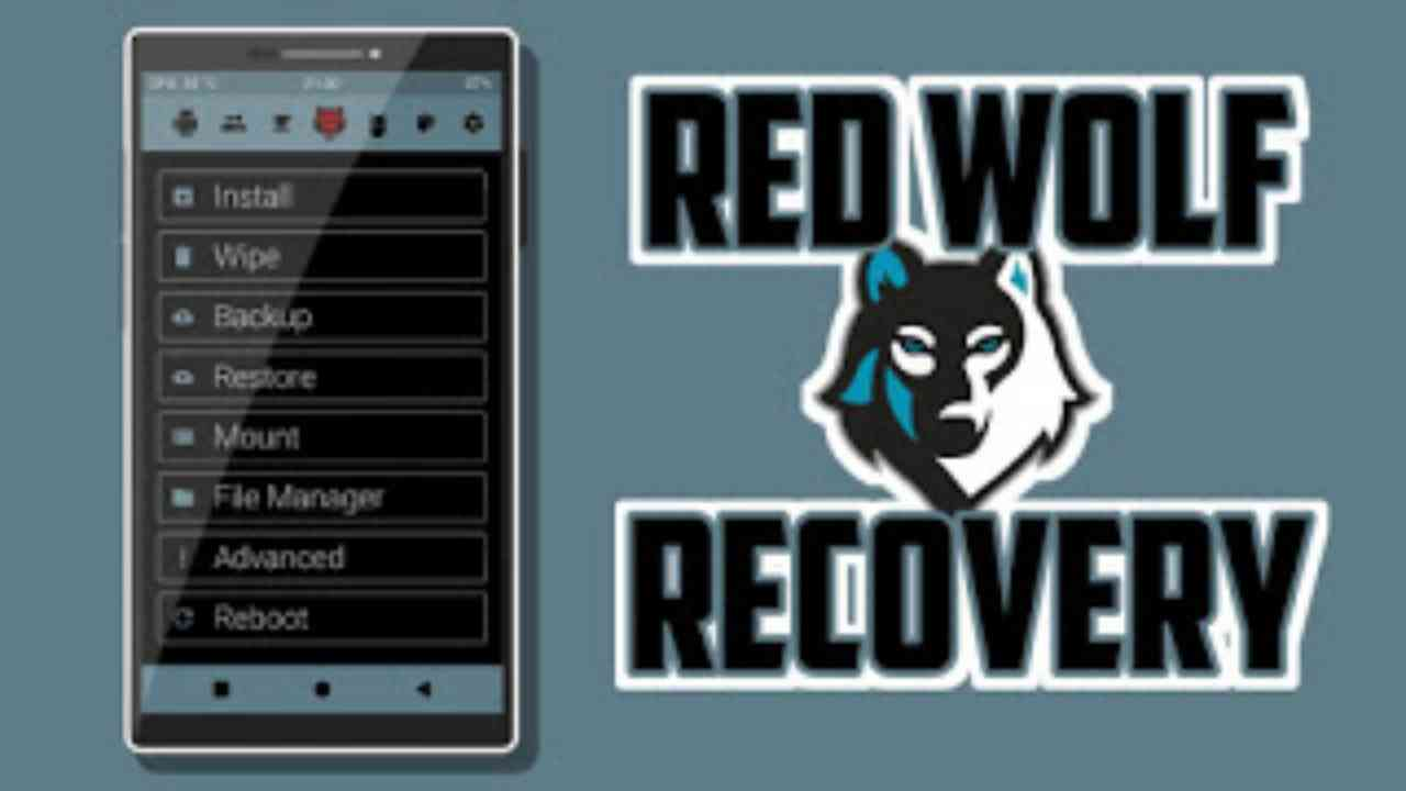 Red Wolf Recovery 3.2.1 untuk Redmi 4x