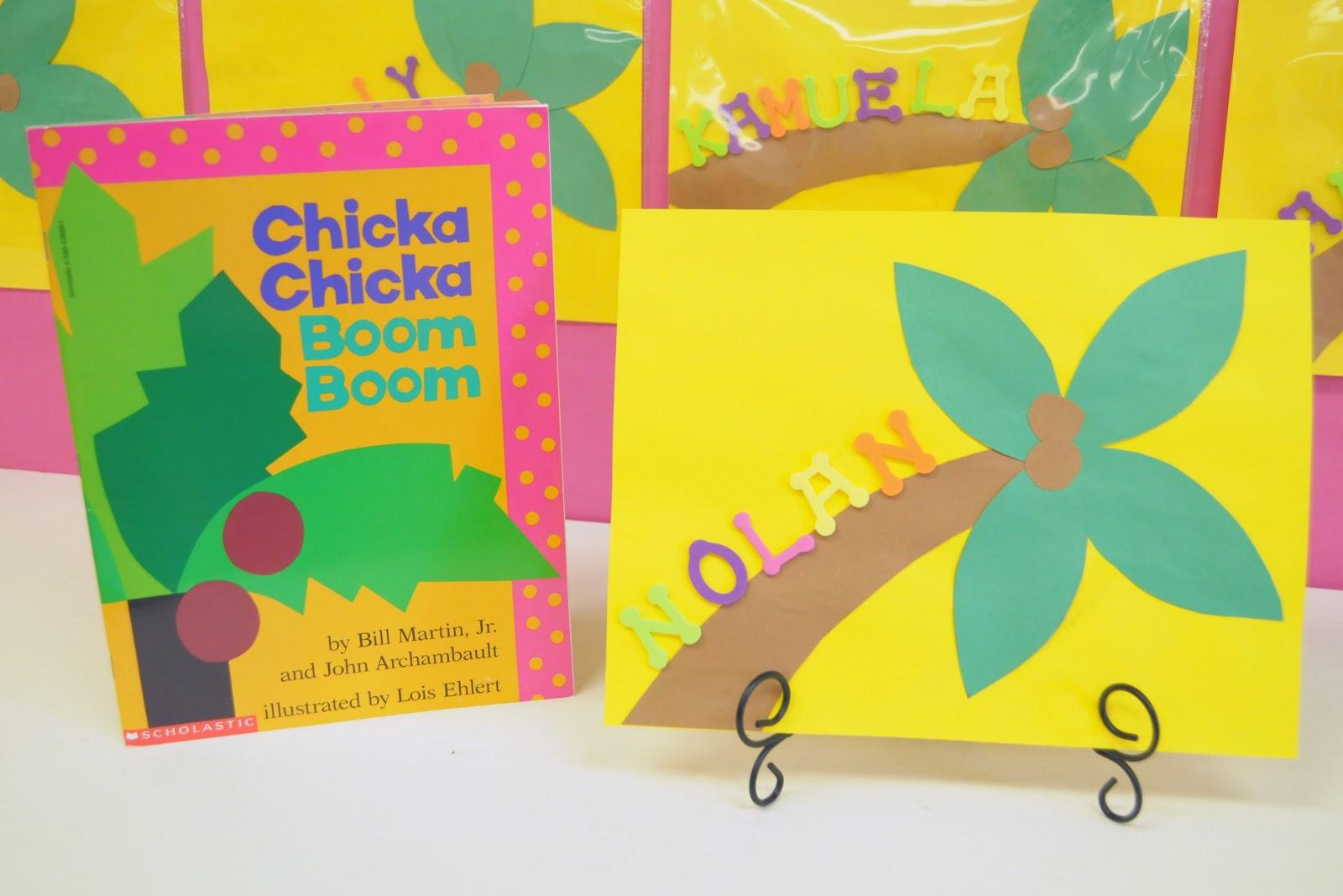 Mrs Ricca S Kindergarten Chicka Chicka Boom Boom