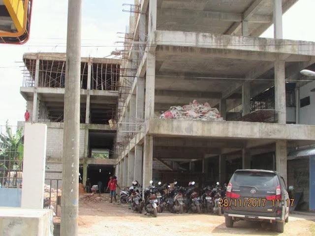 Bangunan RS Graha Hermine Tanpa Plang IMB, dr.Gunawan; Kamu Ketinggalan, Tidak Usah di EXpose Lagi