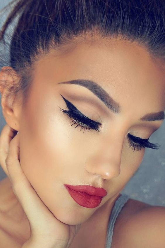 Lovely Winter Makeup Ideas