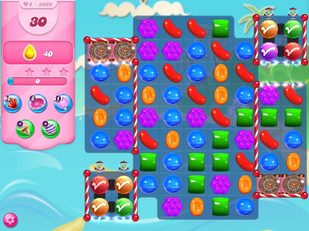 Candy Crush Saga level 3969