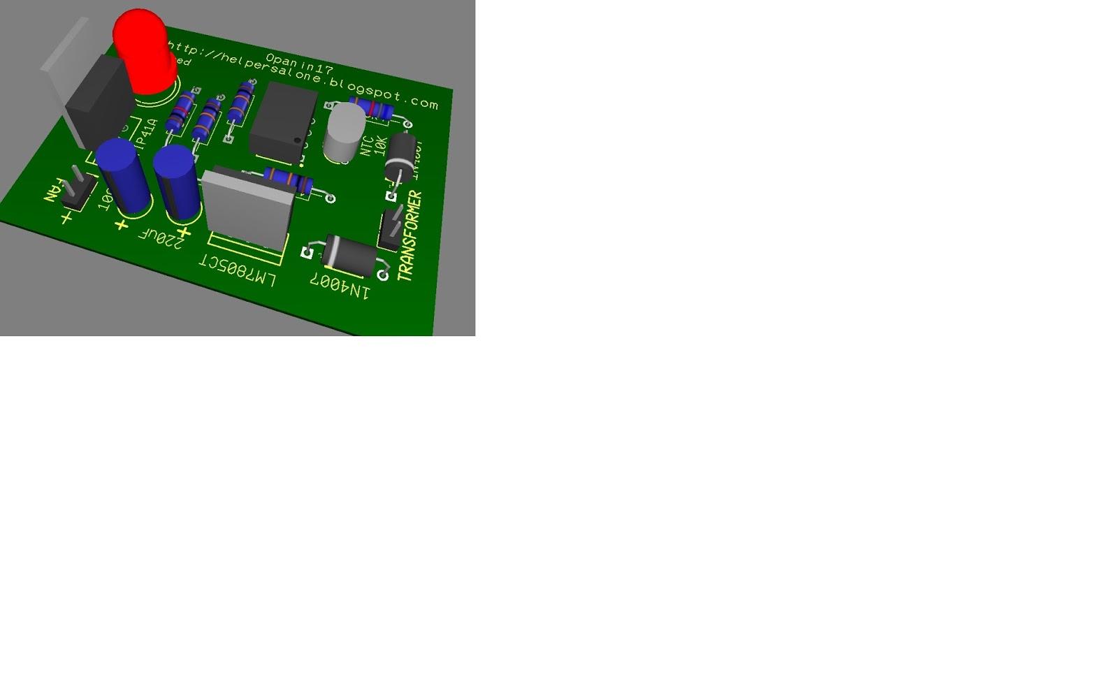 Fan Control Circuit Many Circuits The Circiut Board