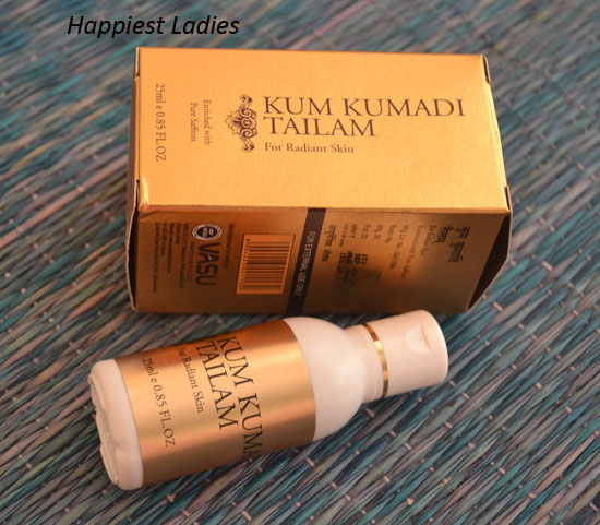 How To Use Kum Kumadi Tailam?
