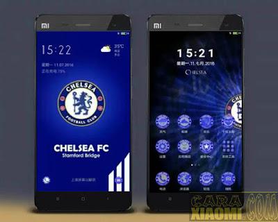 Kumpulan Tema MIUI Football Themes Mtz For Xiaomi Klub Bola Chelsea
