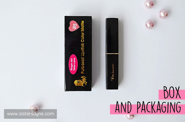 review purbasari lipstick color matte