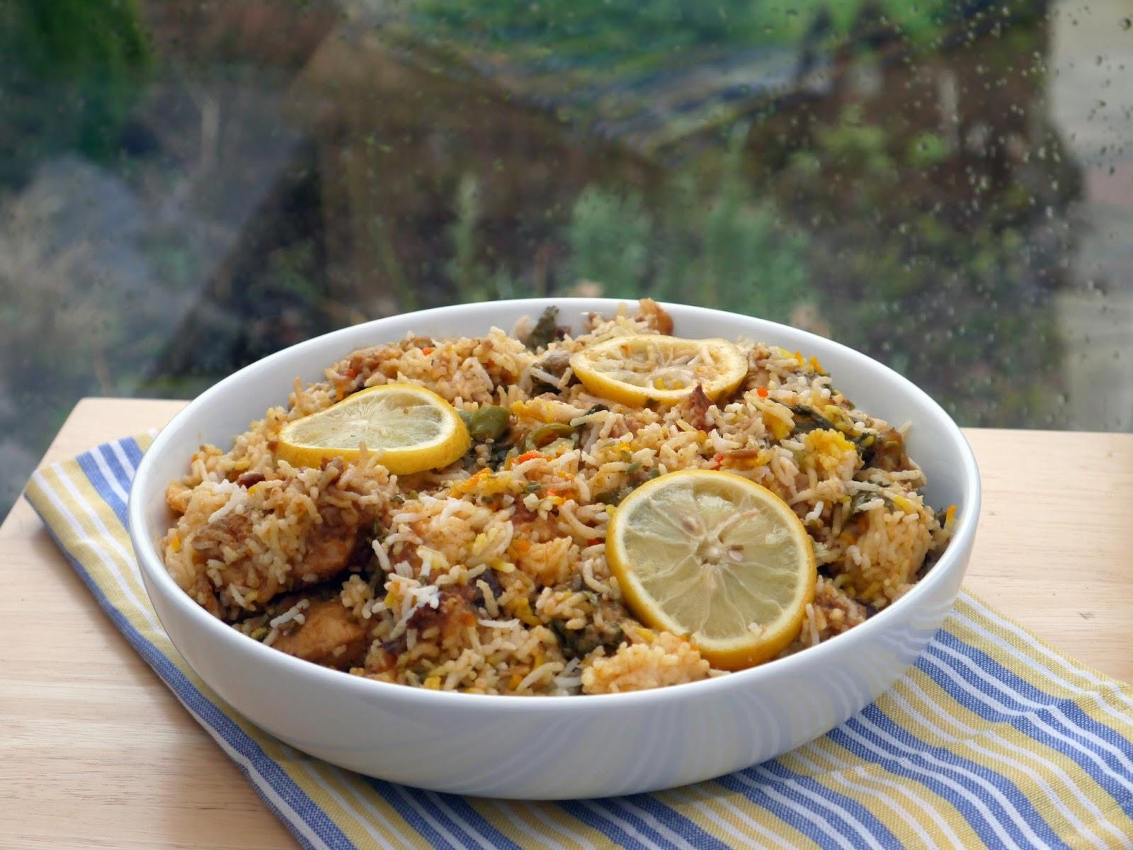 This muslim girl bakes rice the laziest chicken biryani forumfinder Image collections