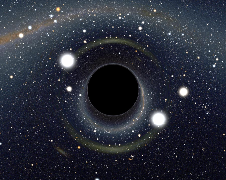 black hole in our universe - photo #2