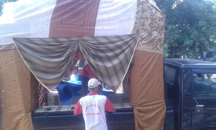 hiasan dekor sudah jadi, karnaval pulorejo 05
