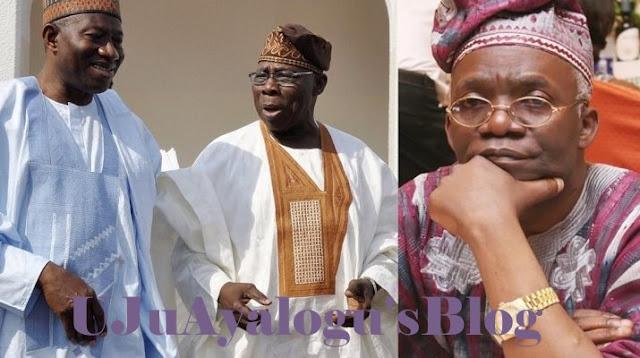 IPOB: Falana Knocks Obasanjo, Attacks Jonathan For Their Hypocrisy