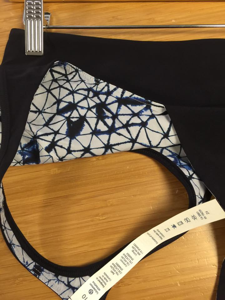 lululemon retreat bra