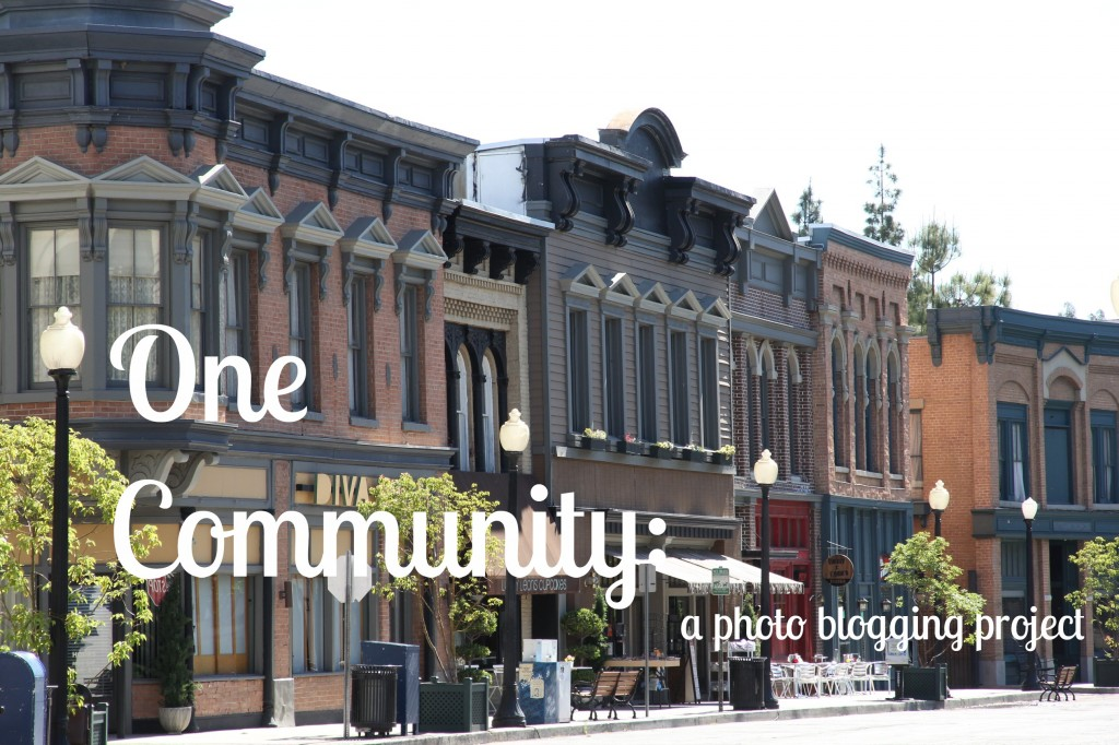 One Community: a photo blogging project