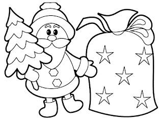 Navidad dibujos para colorear