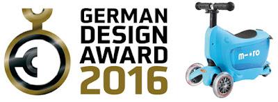 Mini2Go receives prestigious German Design Award - Whoop!