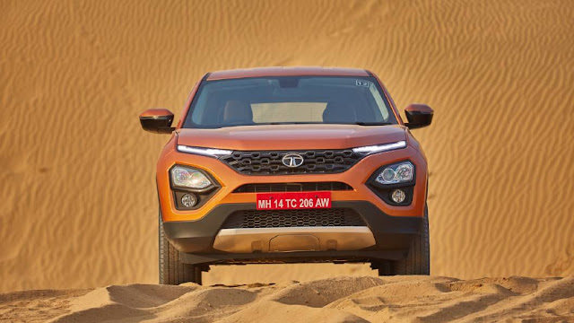 New Tata Harrier front look image
