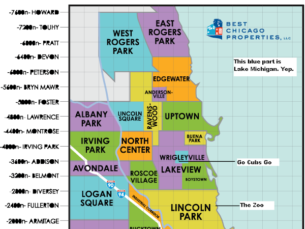 A Helpful Chicago Map