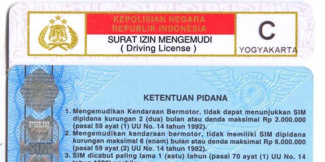 Perpanjang SIM C di SIM Keliling