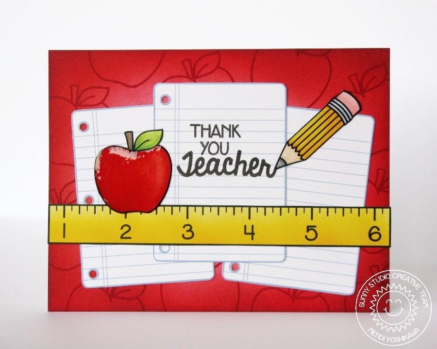 sunny studio introducing school time cards for teachers