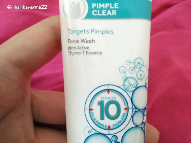 Oil Free Skin With Pond's New Pimple Clear Facewash | With Active Thymo-T Essence 2