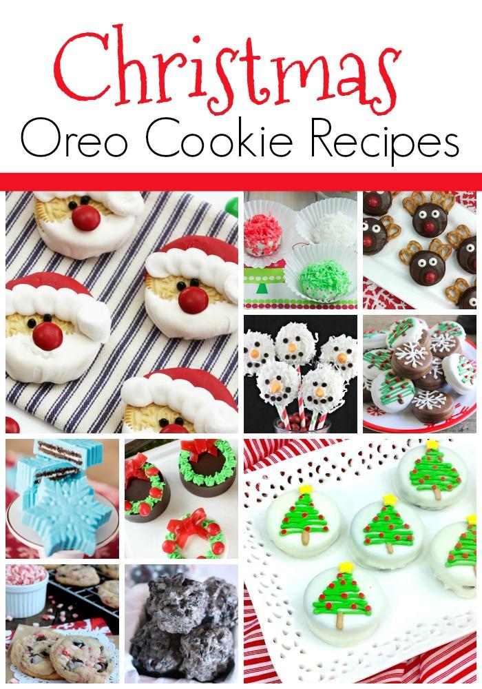 Christmas Tree Lane Oreo Christmas Cookie Ideas
