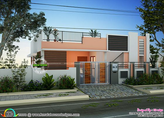 Single floor house 2 bedroom