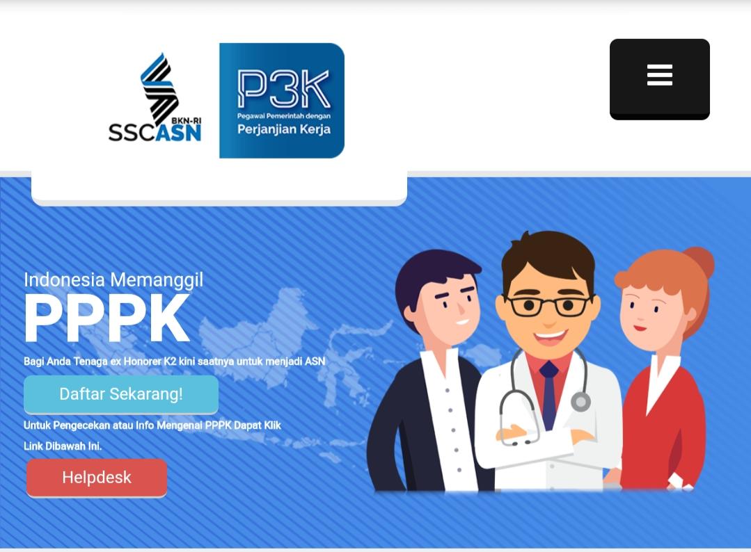 Pendaftaran Pengumuman Cpns Pppk P3k Sscasn Bkn Go Id 2021 2022 Pendaftaran Net 2021 2022