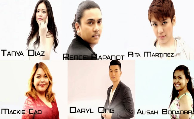 The Voice of the Philippines Season 2 Top 8 from Team Apl and Team Bamboo February 14, 2015