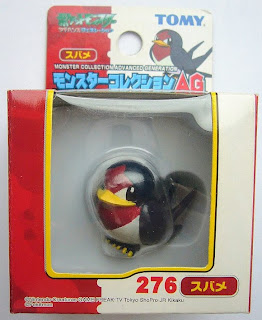 Taillow Pokemon figure Tomy Monster Collection AG series