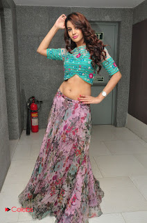 Actress Deeksha Panth  Picture Gallery at Chal Chal Gurram Audio Release  0159.JPG