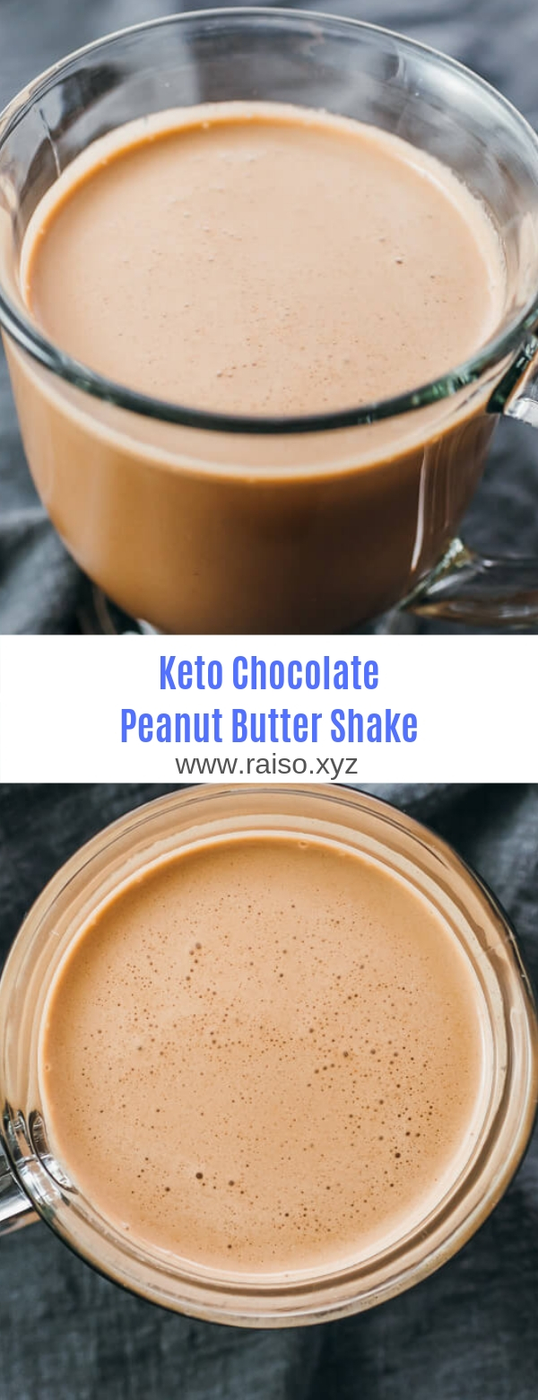 Keto Chocolate Peanut Butter Shake