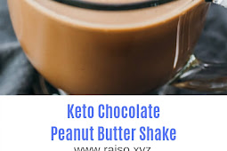 Keto Chocolate Peanut Butter Shake