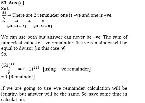 Questions Based On Remainder Theorem IB (ACIO) SPECIAL - 2017
