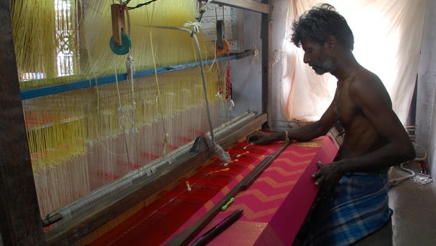 Kanchipuram silk saree industry
