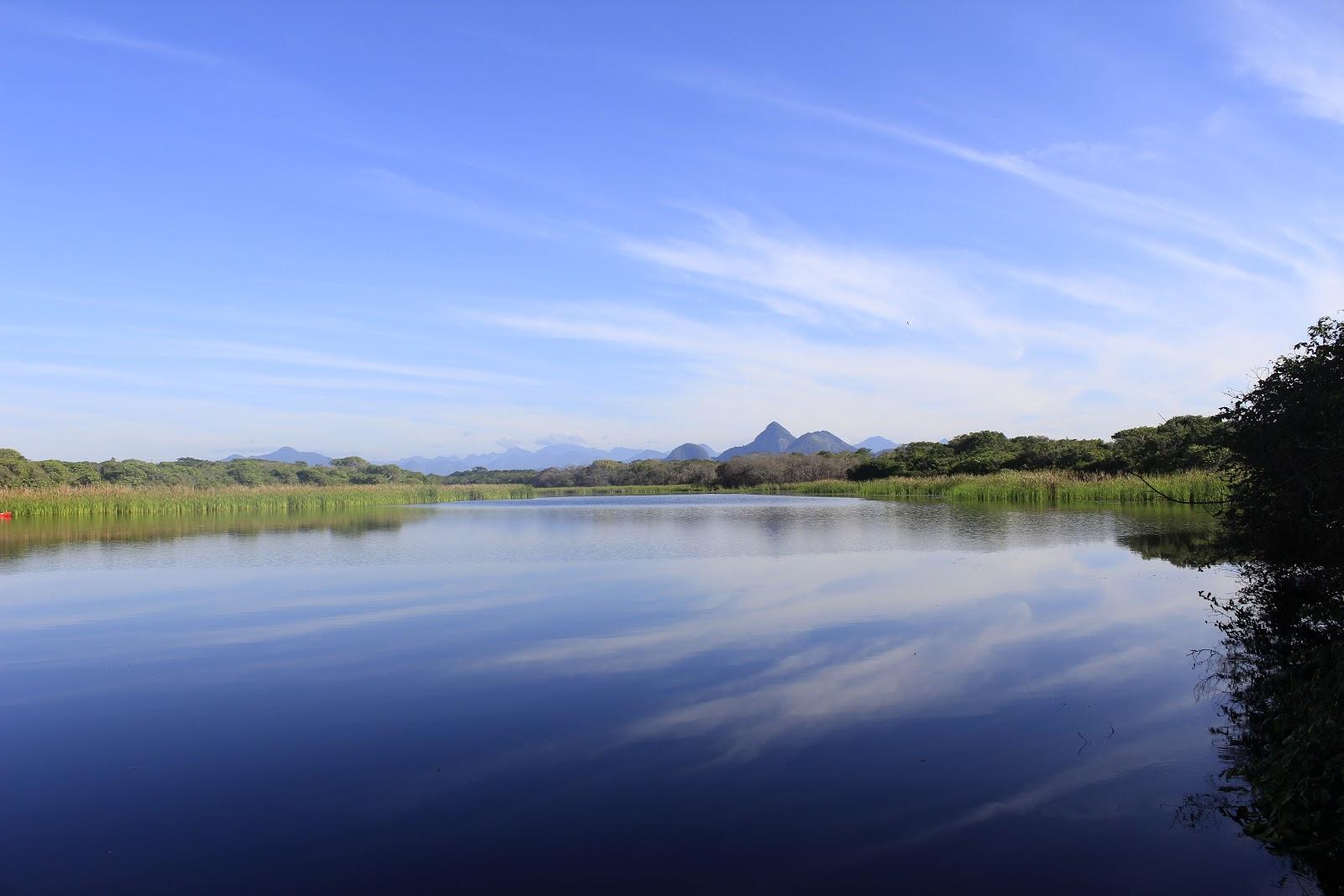 エスクラ湖(ラグーン)