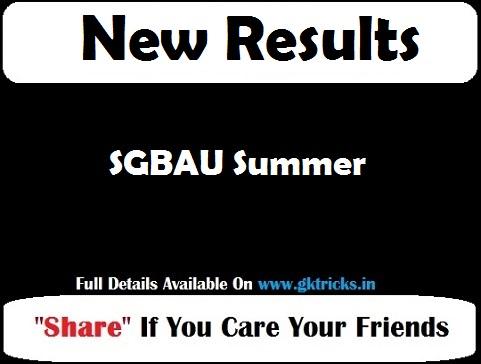 SGBAU Summer
