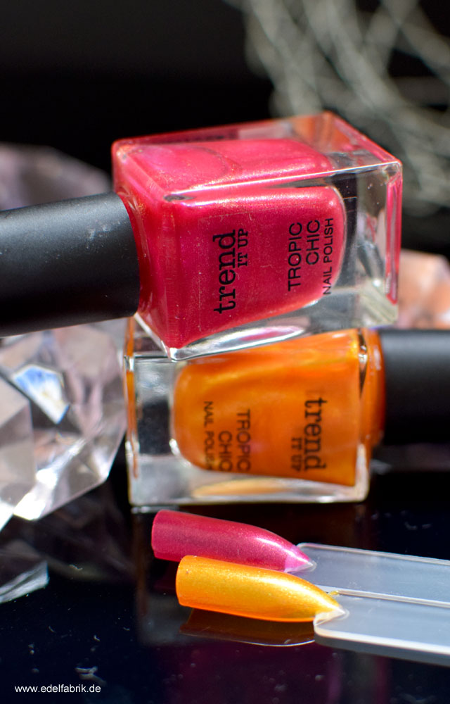 trend IT UP  Tropic Chic Nail Polish, Swatch