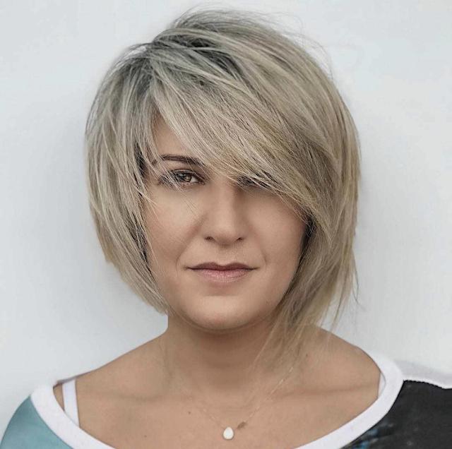 short pixie hairstyles for older women