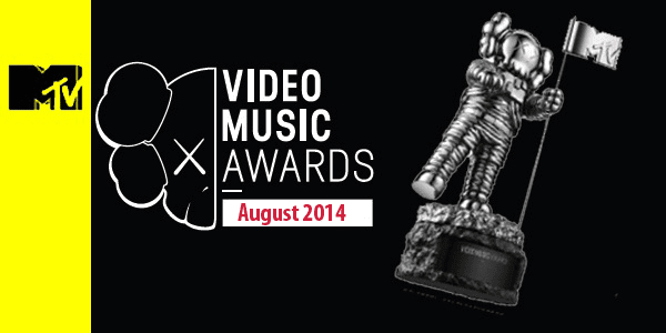 MTV Video Music Awards Nomination August 2014