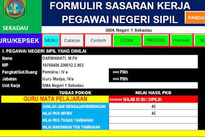 Download Kumpulan Aplikasi SKP Format Terbaru 2018