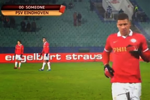 Jeffrey Bruma captioned as 'someone' after getting sent off